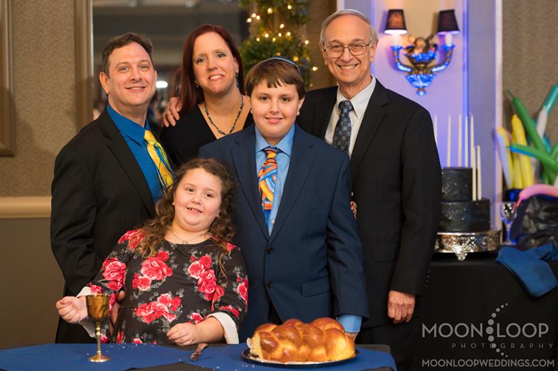 Bar Mitzvah Family