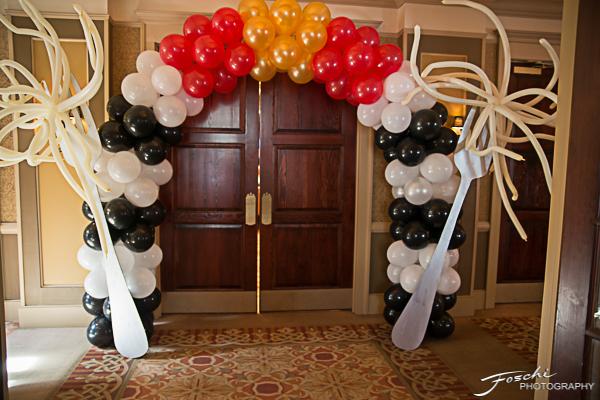Balloon entrance
