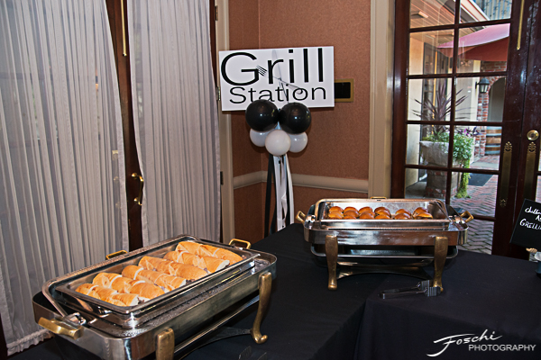 Grill food station