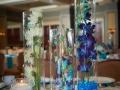 Blue Stone Centerpieces