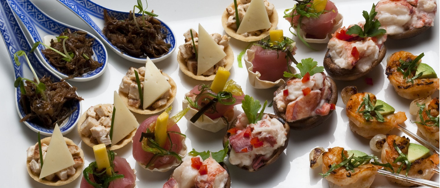 Assorted Hors d'Oeuvres