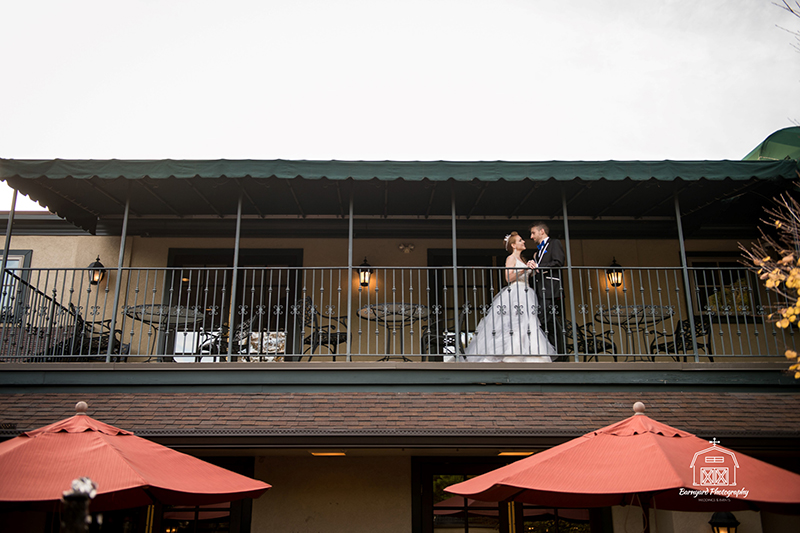 Balcony by Bridal Suite