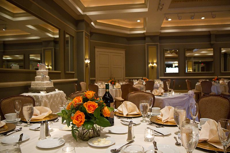 Ballroom A Wedding with Cake