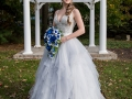 Bride by the Gazebo