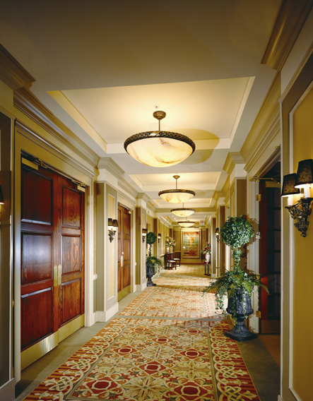 Ballroom hallway