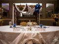 Blue theme sweetheart table