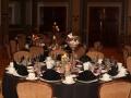 Black Linen Tablescape