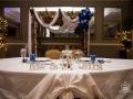 Blue theme sweetheart table
