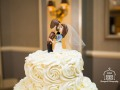 Cute kissing couple cake topper