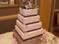 Square Layers with Purple Ribbon