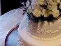 Two-Tier Fondant Cake