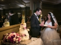 Bride & Groom Cutting the Cake