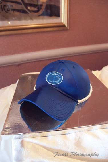 Penn State Cap Groom's Cake